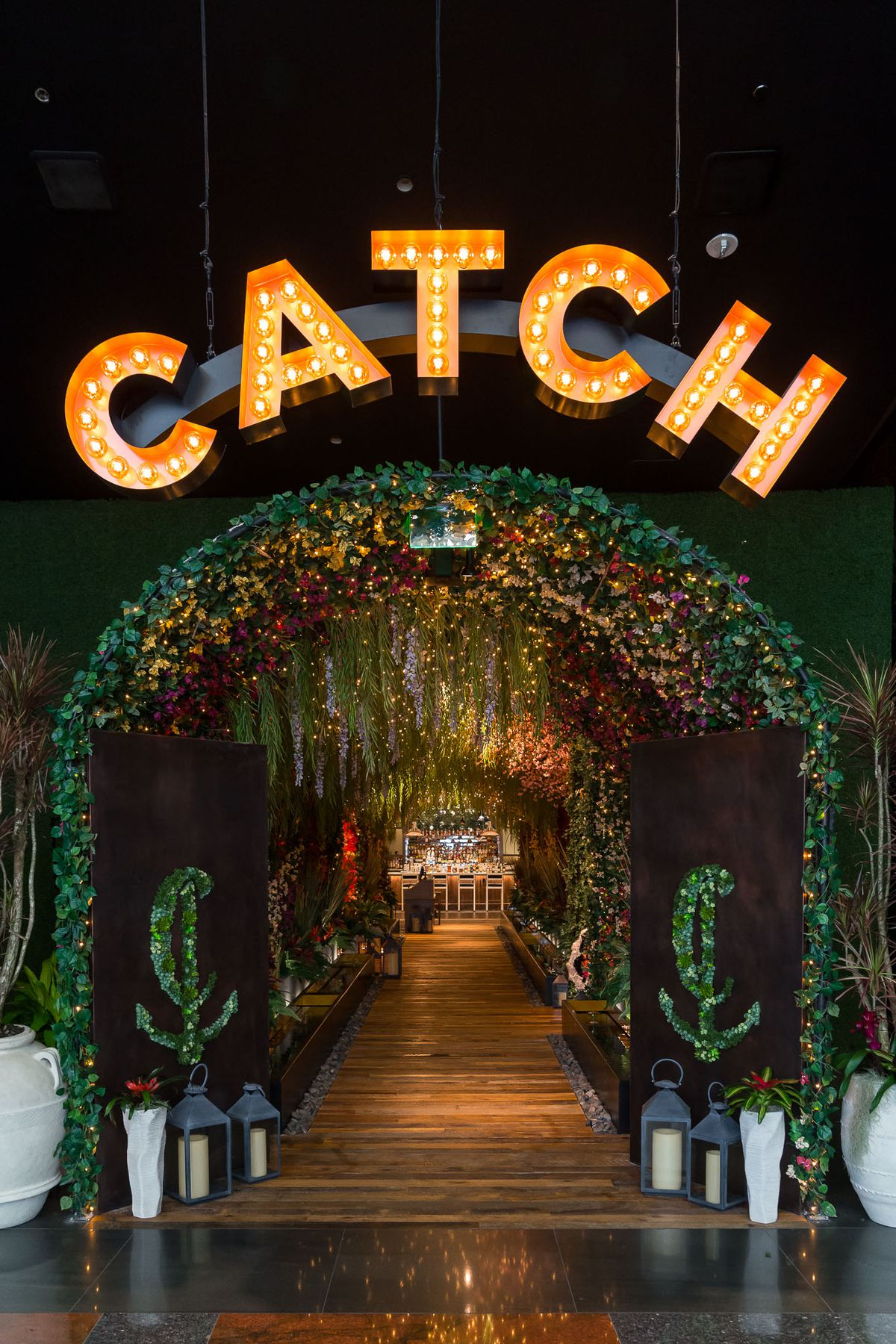 The entrance to Catch