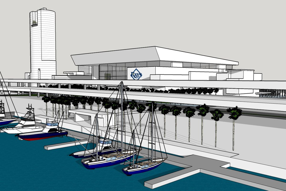 This is what the new Rays Ybor stadium could look like ...
