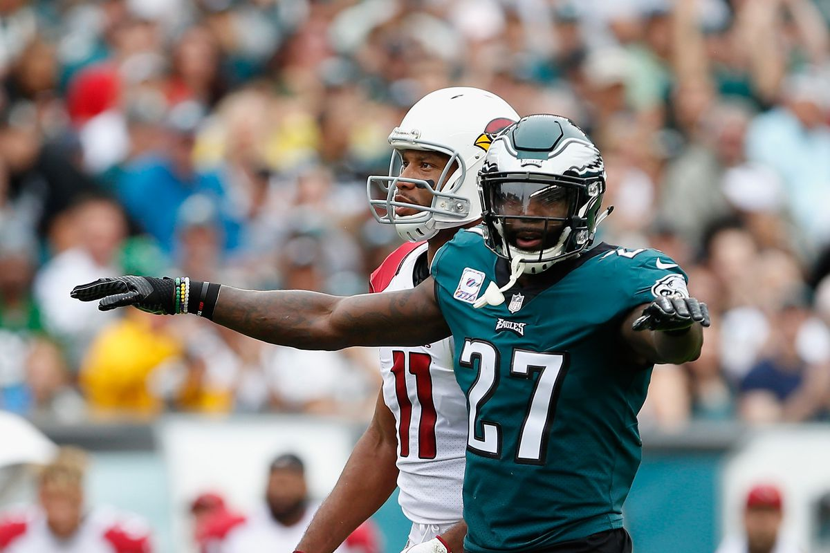Watch Malcolm Jenkins mic d up during the Eagles Cardinals game