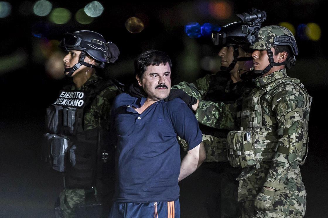 El Chapo in custody