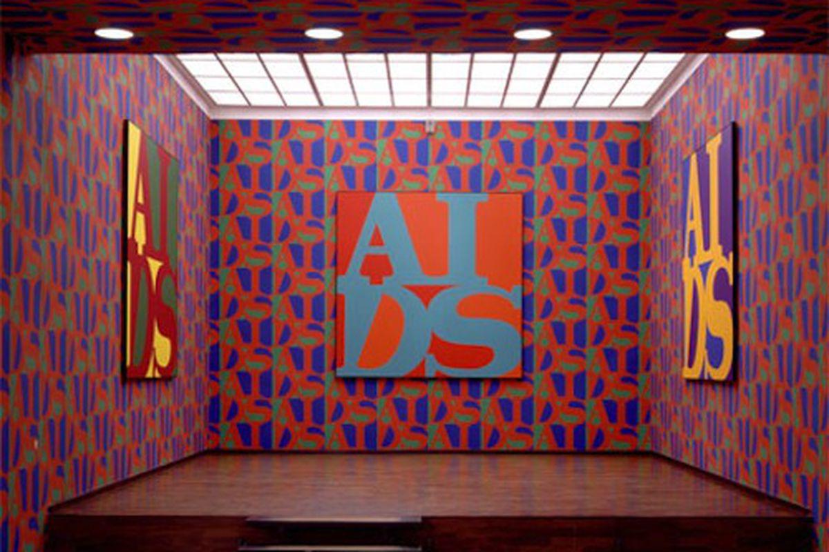 "Installation by General Idea, via <a href=""http://thephoenix.com/boston/arts/144275-futures-past/"">The Phoenix</a>."