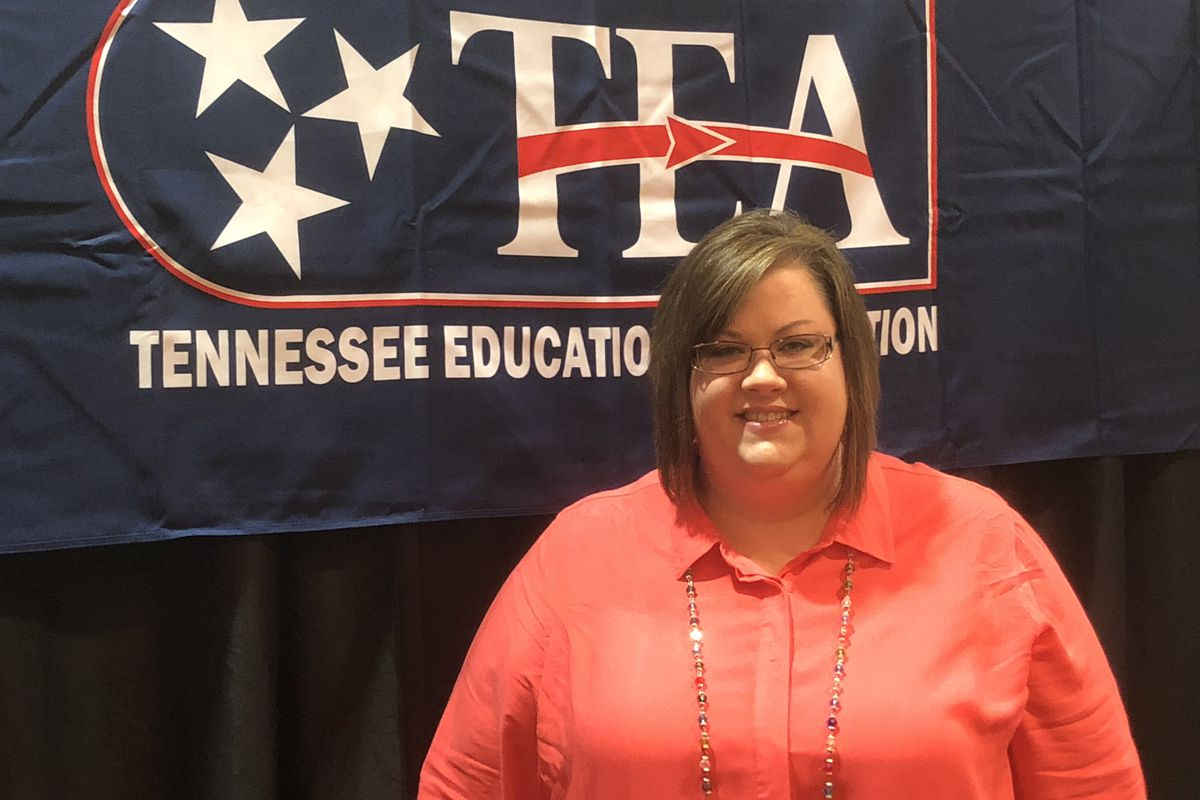 Beth Brown is the incoming president of the Tennessee Education Association, the state's largest teacher group. She has taught in Grundy County Schools for 17 years.