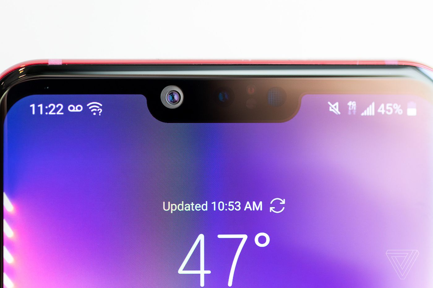 LG G8's bokeh for video needs some work