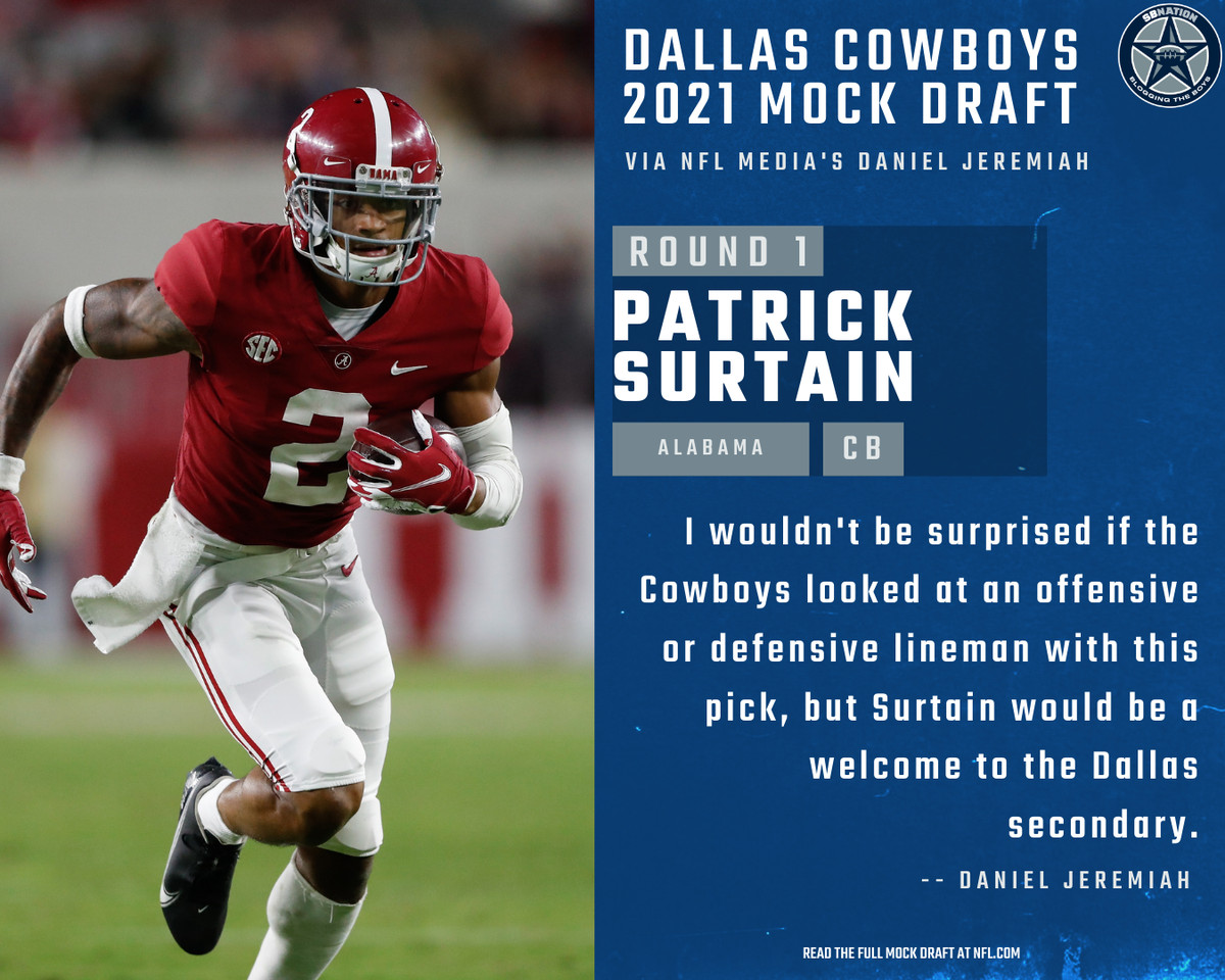 A popular pick for the Cowboys at #10.