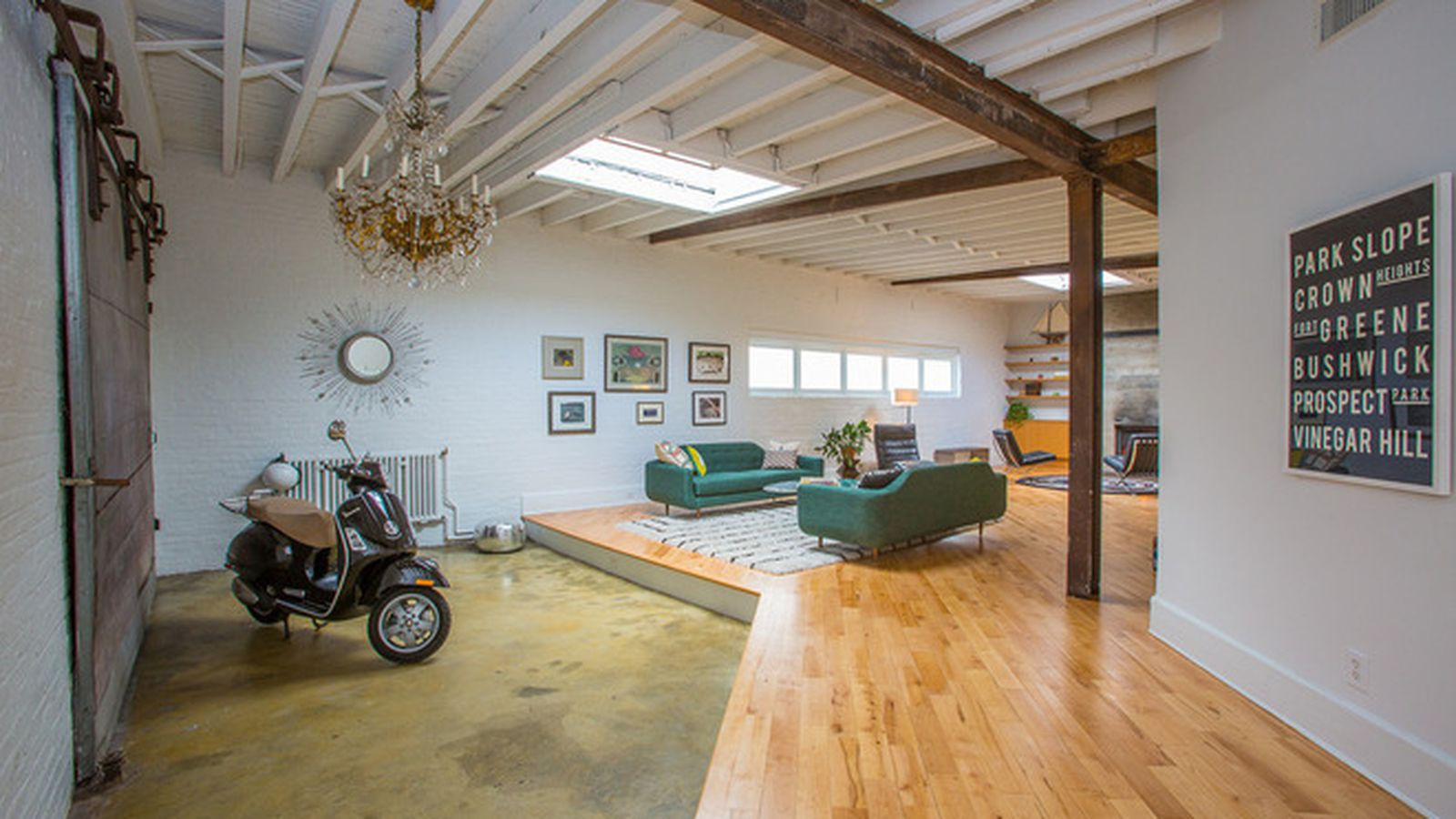 Awesome Brooklyn House Lets You Ride A Motorcycle Inside