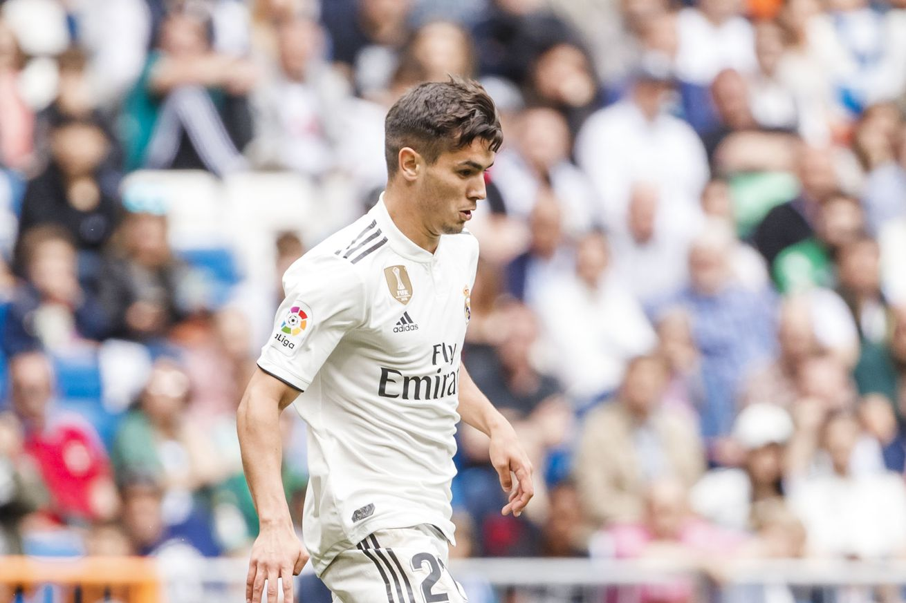 Brahim back with Real Madrid squad in training