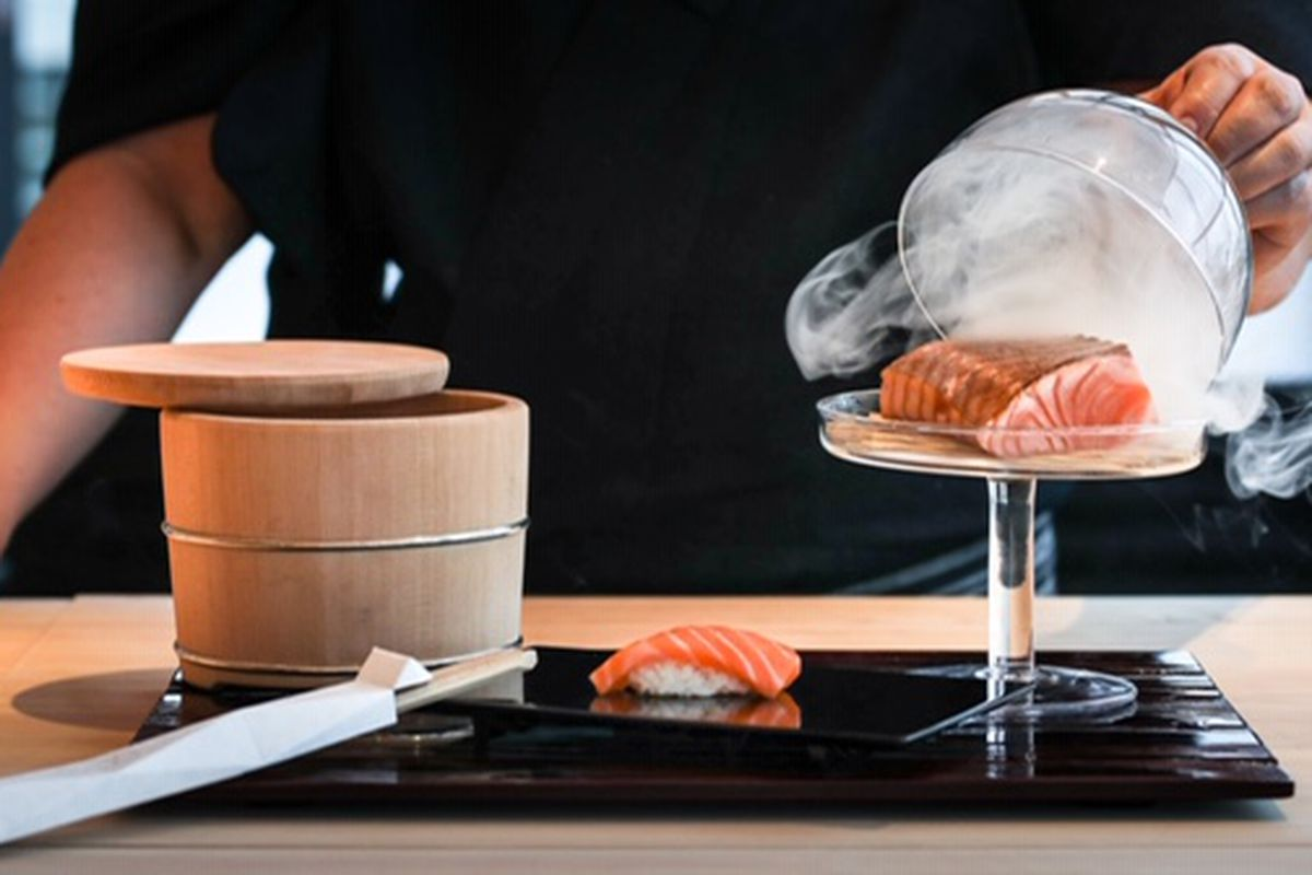 London's best sushi restaurants include Endo at the Rotunda