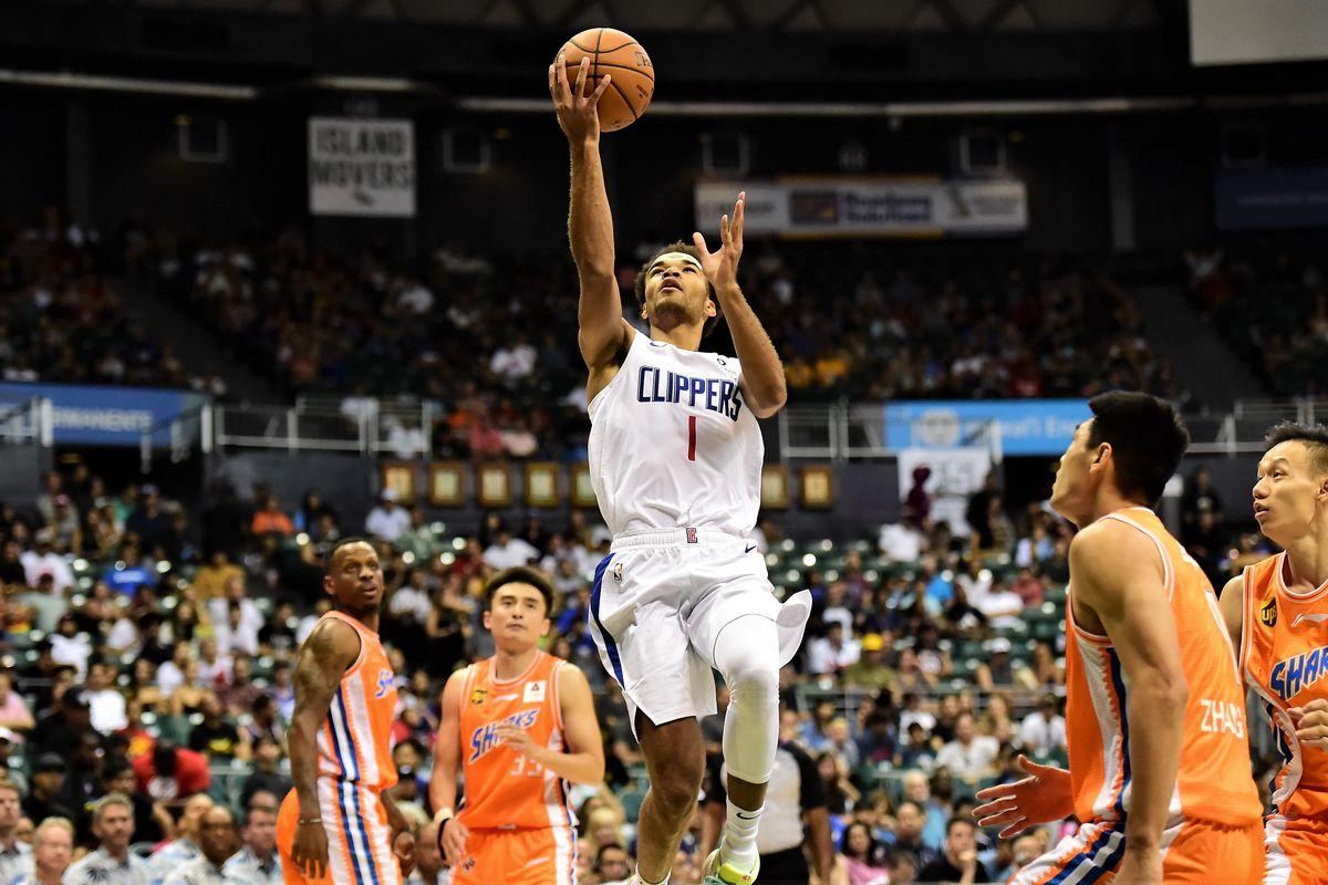 NBA: Preseason-Shanghai Sharks at Los Angeles Clippers