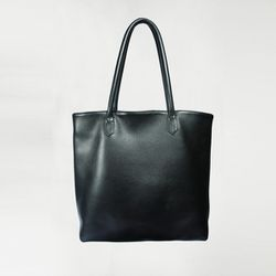 """Clark and Madison classic tote in Coal, $296 at <a href=""""http://www.clarkandmadison.com/products/classic-tote-coal"""">Clark and Madison</a>"""