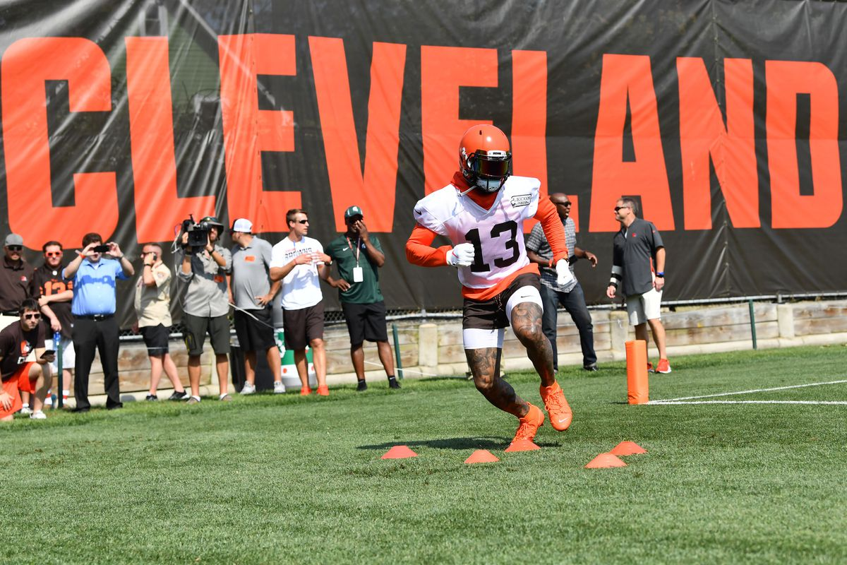 Cleveland Browns Training Camp Recap Day 1 Odell Beckham