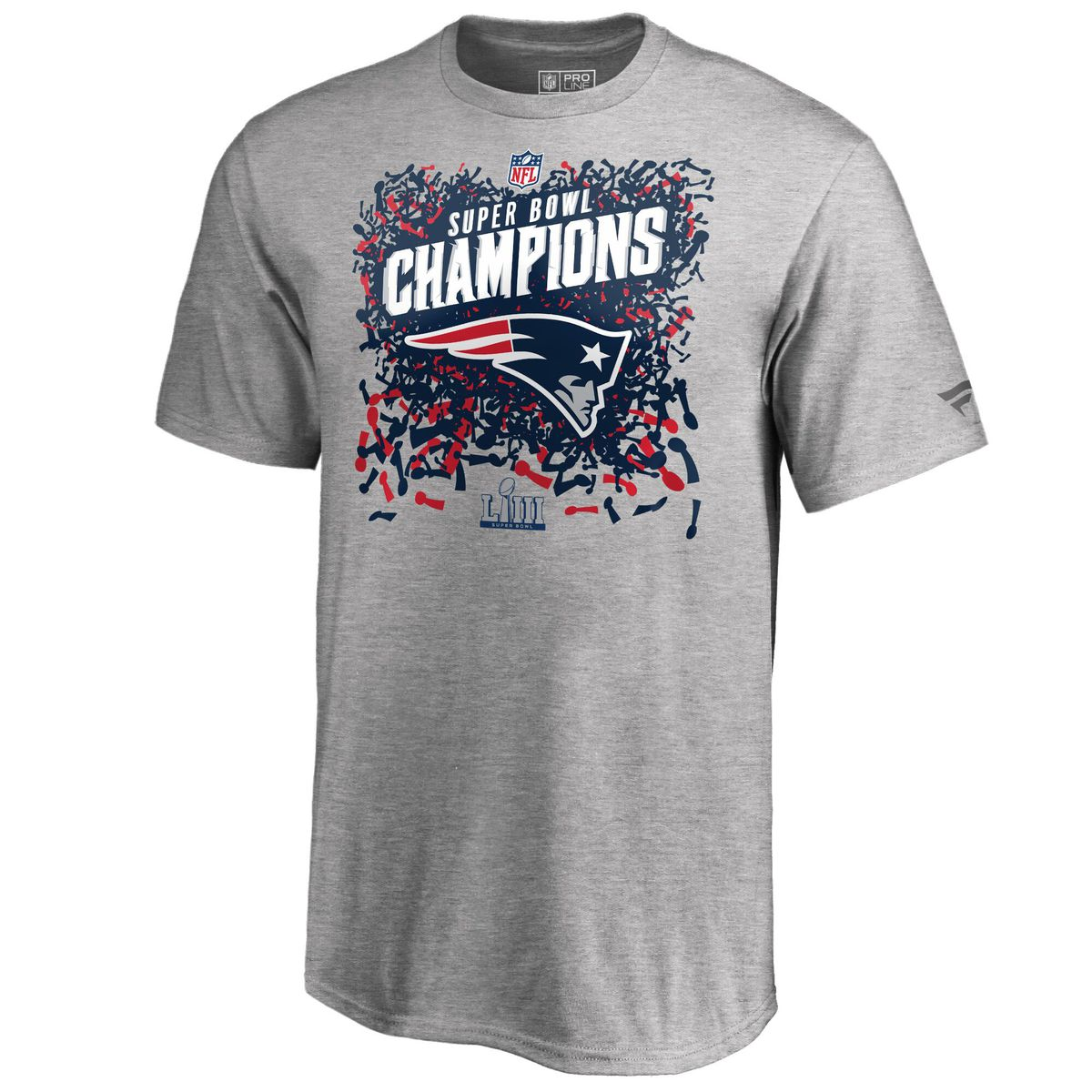 7100673a2 The Patriots Super Bowl 53 T-shirts. Super Bowl Champs Trophy Collection T- shirt for $34.99 Fanatics
