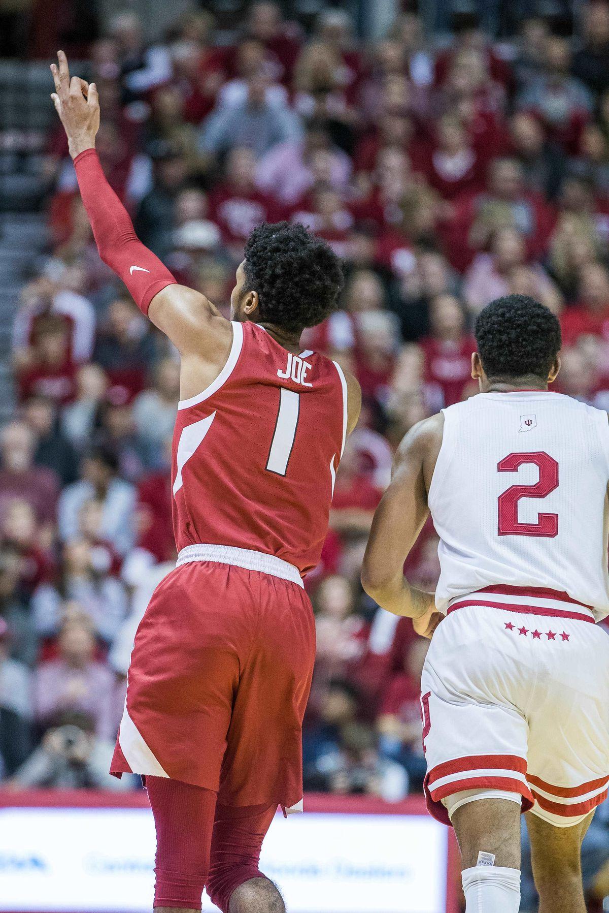 NCAA Basketball: Arkansas at Indiana