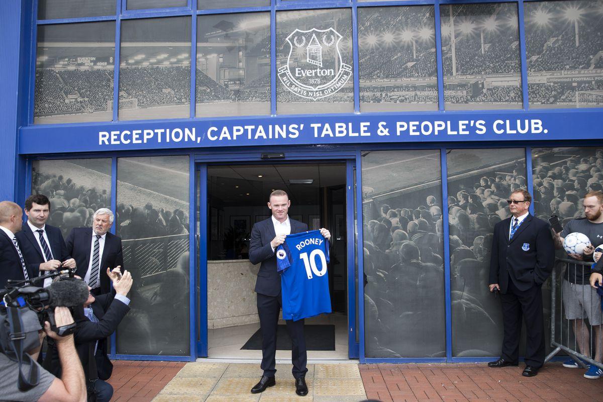 Everton Yannick Bolasie #7 T-Shirt T Shirt Everton Blue Toffees