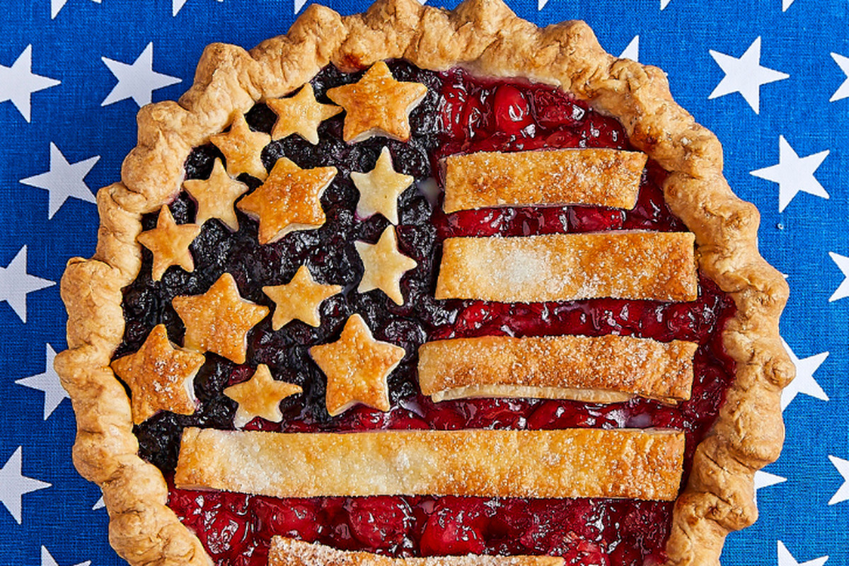 The Fourth of July pie from Tiny Pies