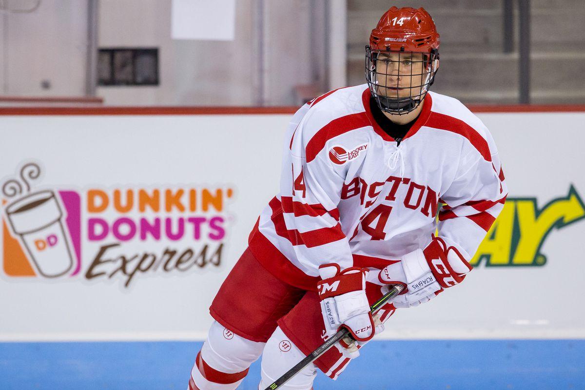 BU freshman Bobo Carpenter scored two goals in last Saturday's win over Maine.