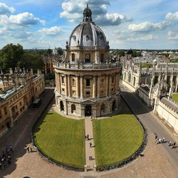 The Radcliffe Camera at Oxford University, England, on June 14, 2017.