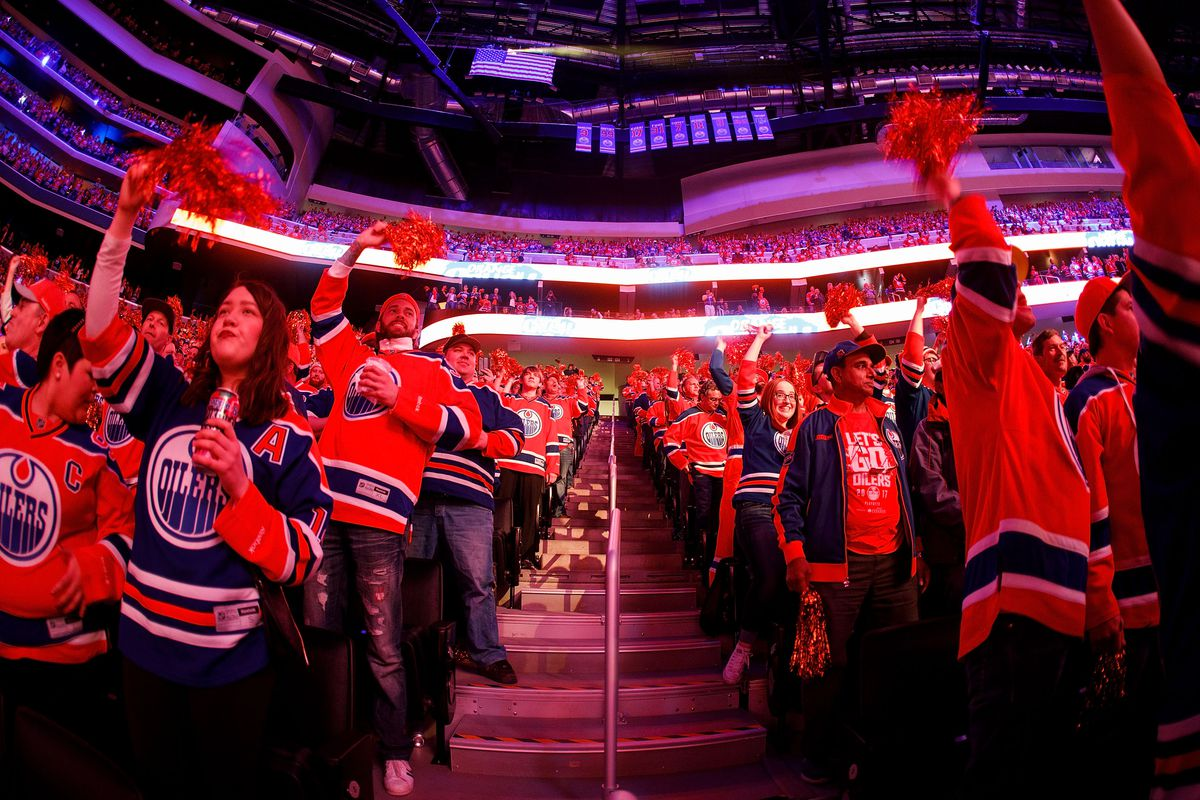 San Jose Sharks v Edmonton Oilers - Game One