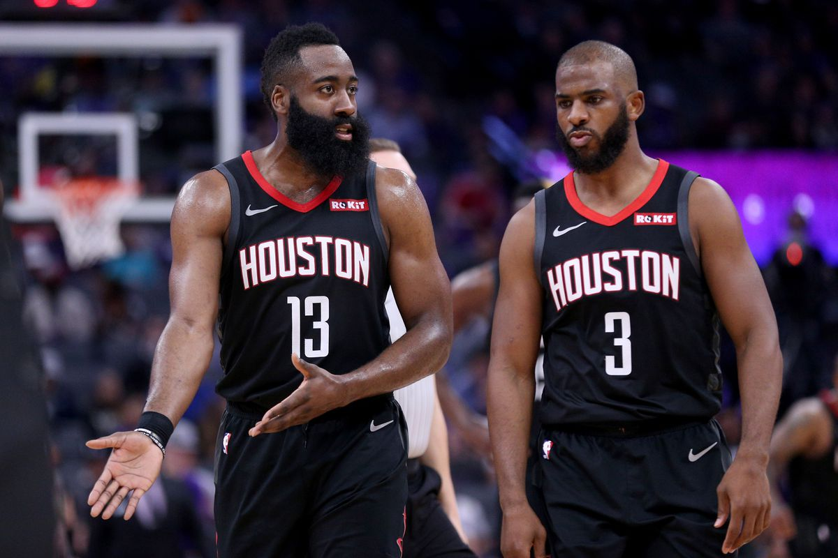 e8e4fe04f147 Rockets need more from James Harden and Chris Paul - The Dream Shake