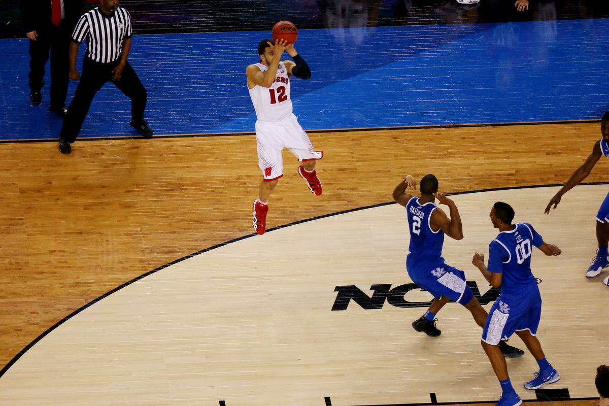 Wisconsin was the sole Big Ten team remaining before losing to Kentucky.