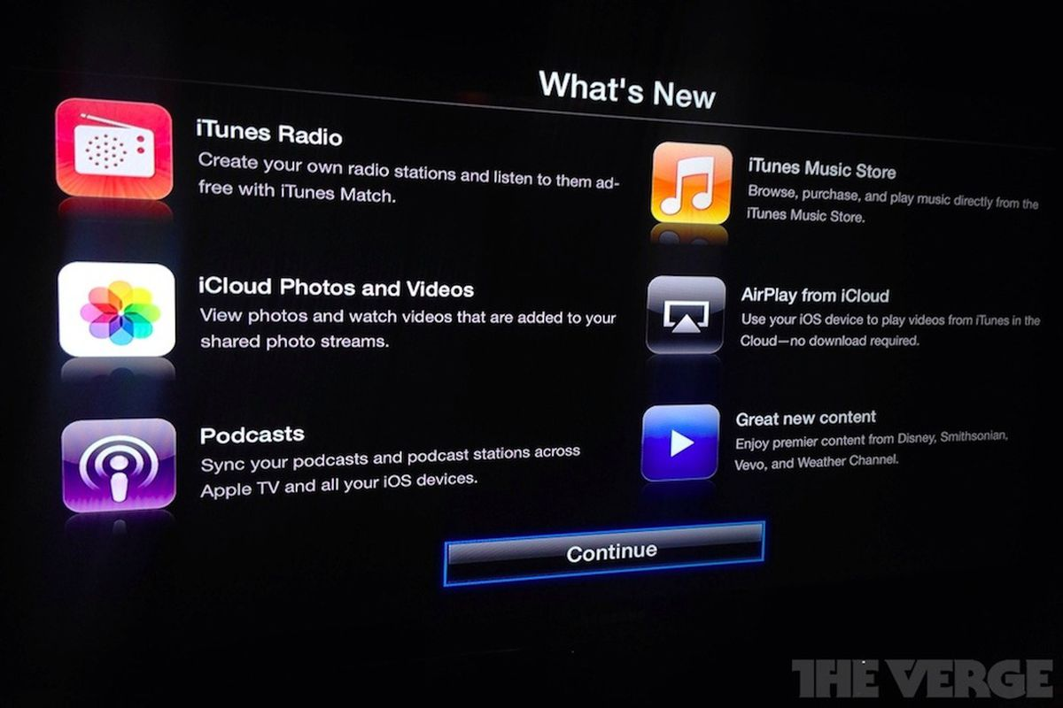 Major Apple TV update brings iTunes Radio, music purchases