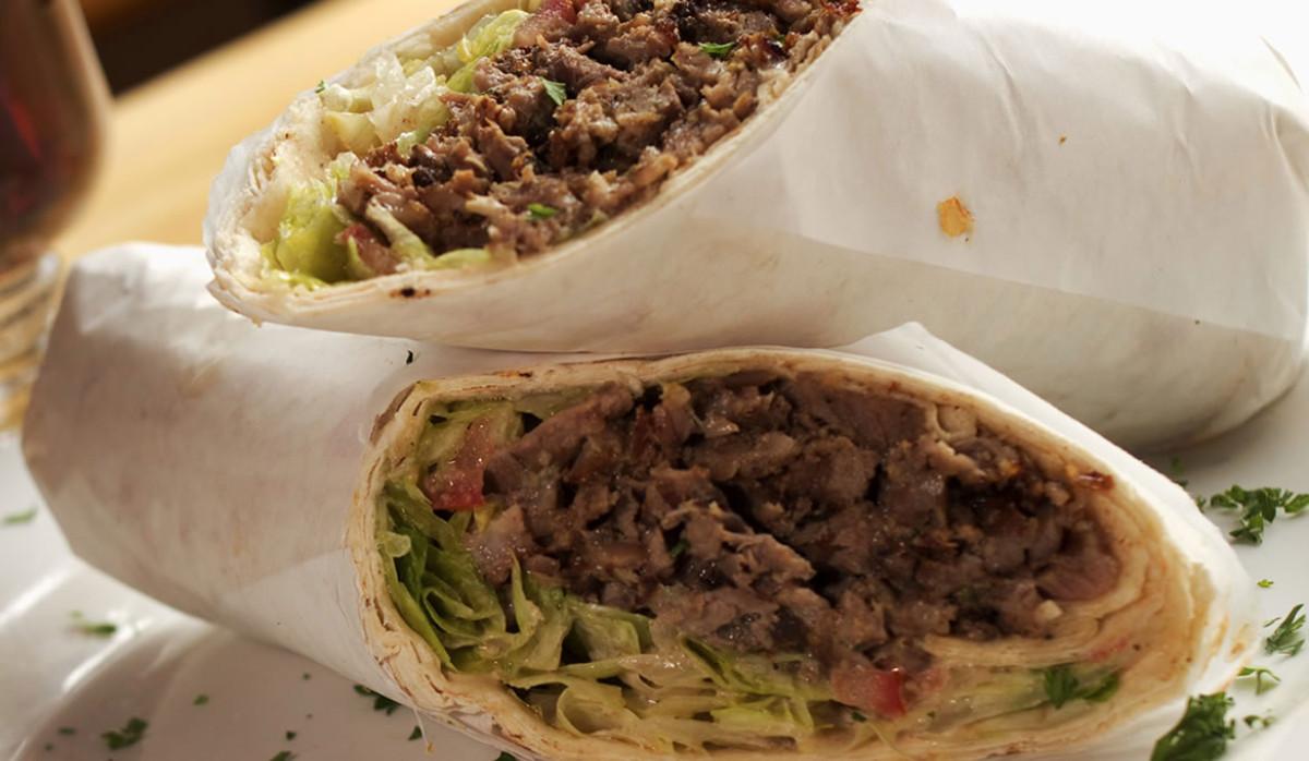 Wrap at SF Kebab