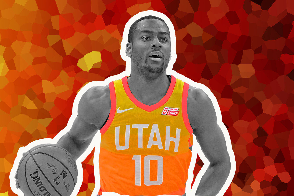 best sneakers 352e8 5894d The evergreen potential of Utah's Alec Burks - SLC Dunk