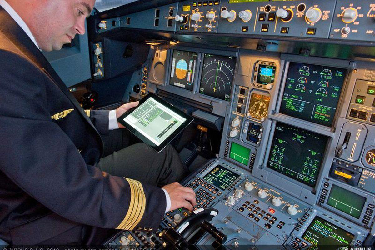 Airbus Develops Electronic Flight Bag S For Ipad Wielding