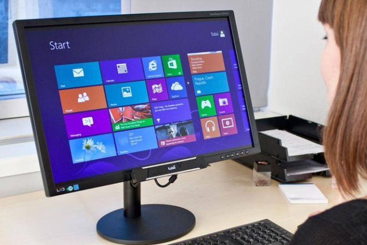 Windows 8 Computer - Tobii rex stock press 640