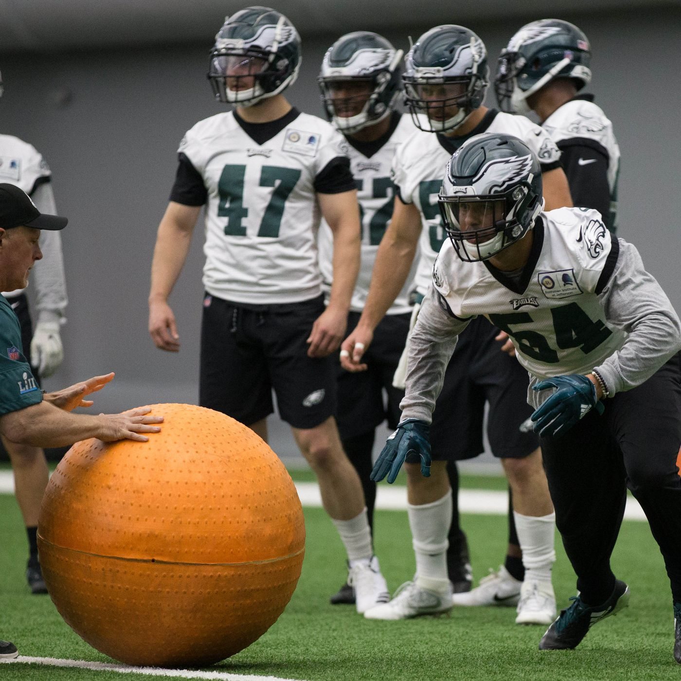 1ade7970 Eagles decide to hold OTA practice after being disinvited to the White  House. New ...