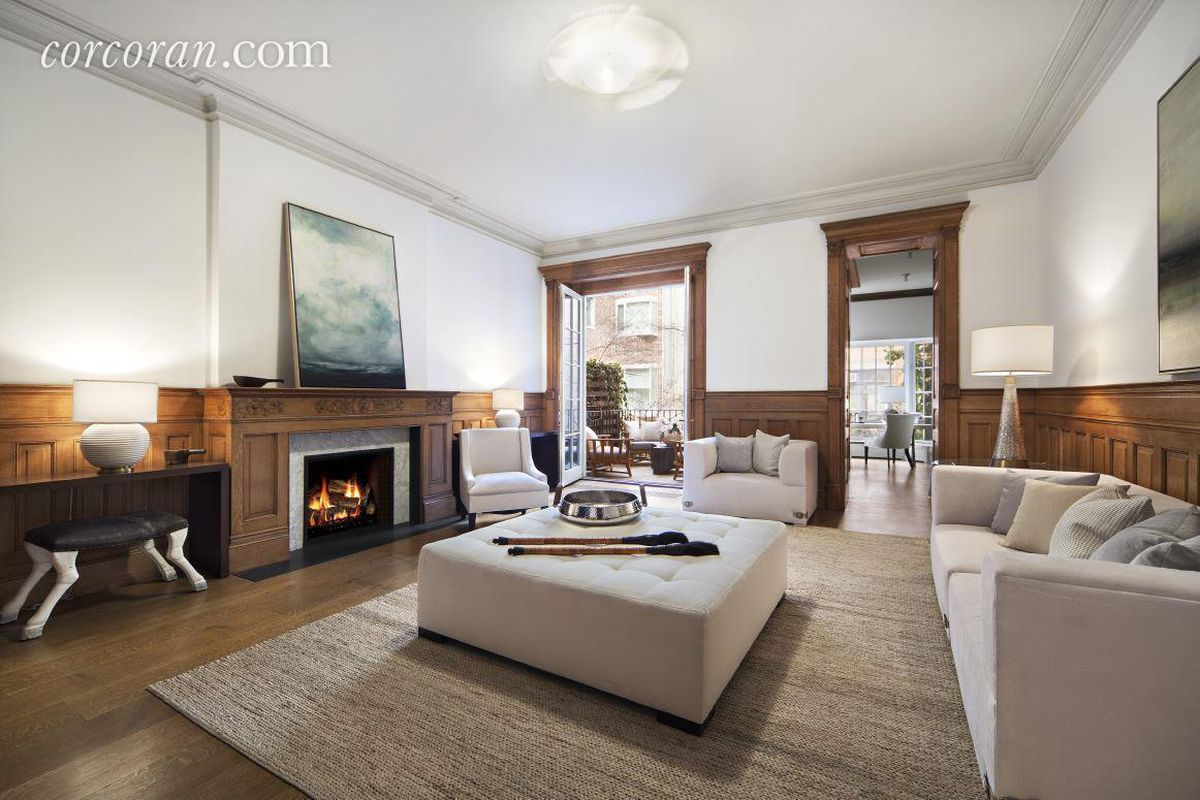 glorious upper west side mansion with indoor basketball court