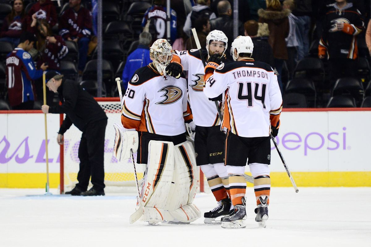 Jason LaBarbera ( ! ) Helps Ducks Past Colorado - Anaheim Calling f7595487c