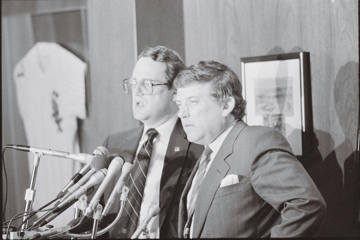 Jerry Reinsdorf and Eddie Einhorn