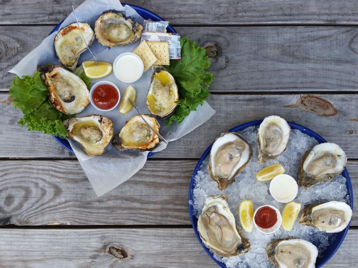 Oysters from Quality Seafood