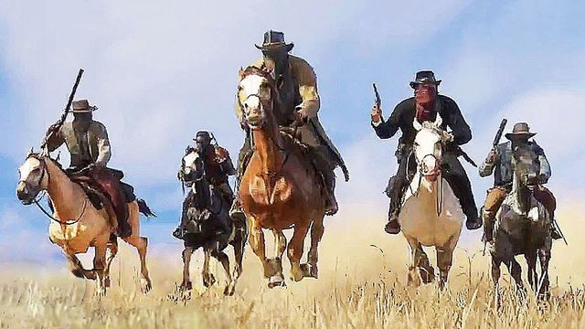 A scene from <em>Red Dead Redemption 2</em>.