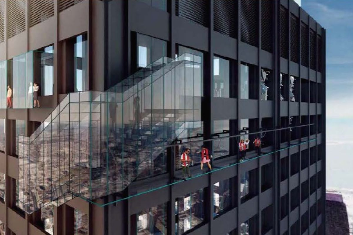 new willis tower observatory attractions may include rappelling from