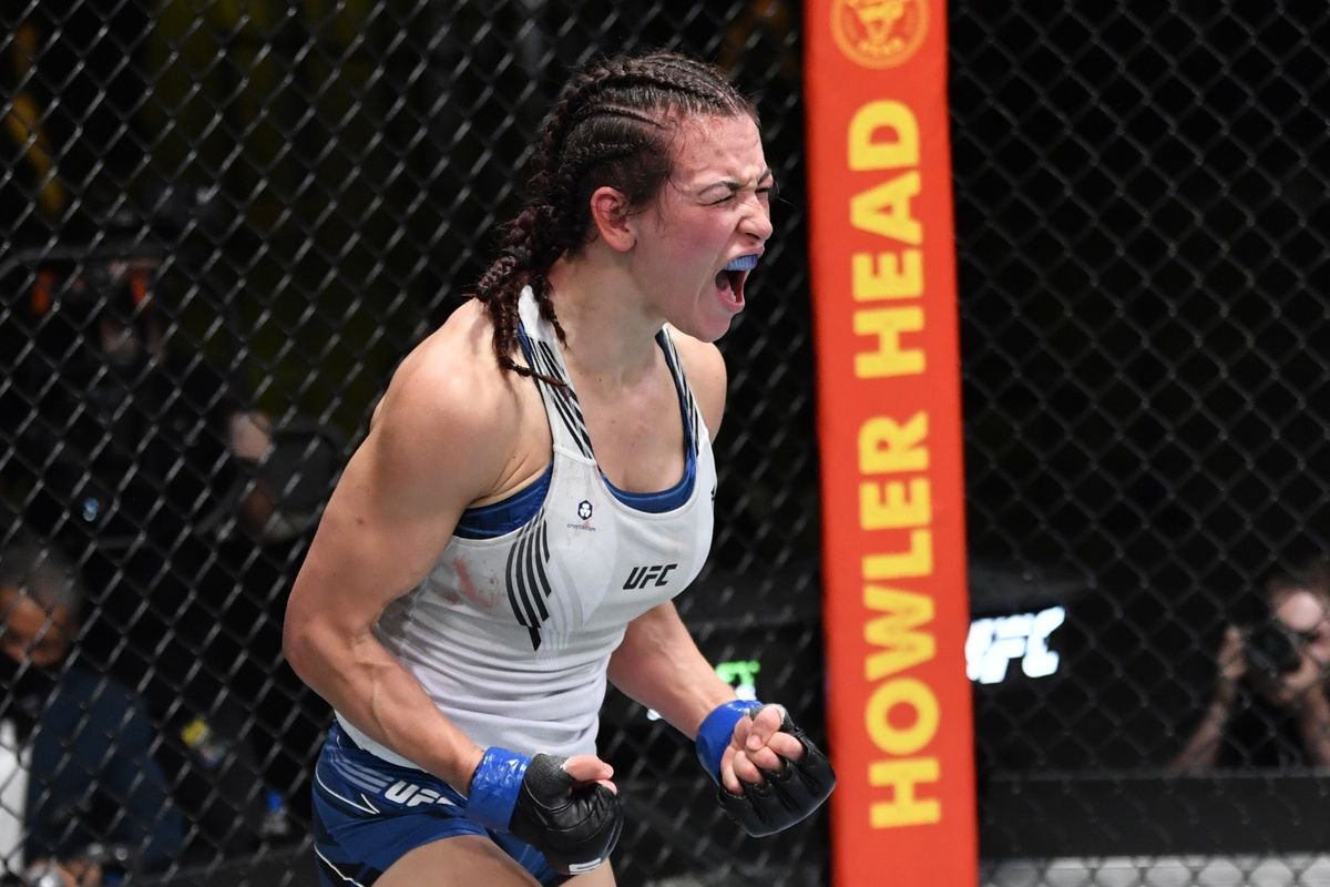 Miesha Tate defeated Marion Reneau in her last fight.