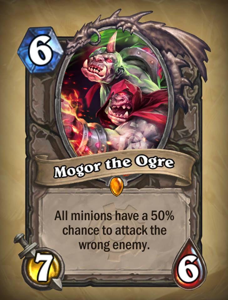 Hearthstone: Goblins vs. Gnomes Mogor the Ogre
