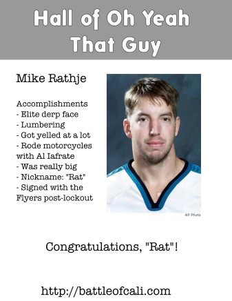 Mike Rathje: Hall of Oh Yeah That Guy