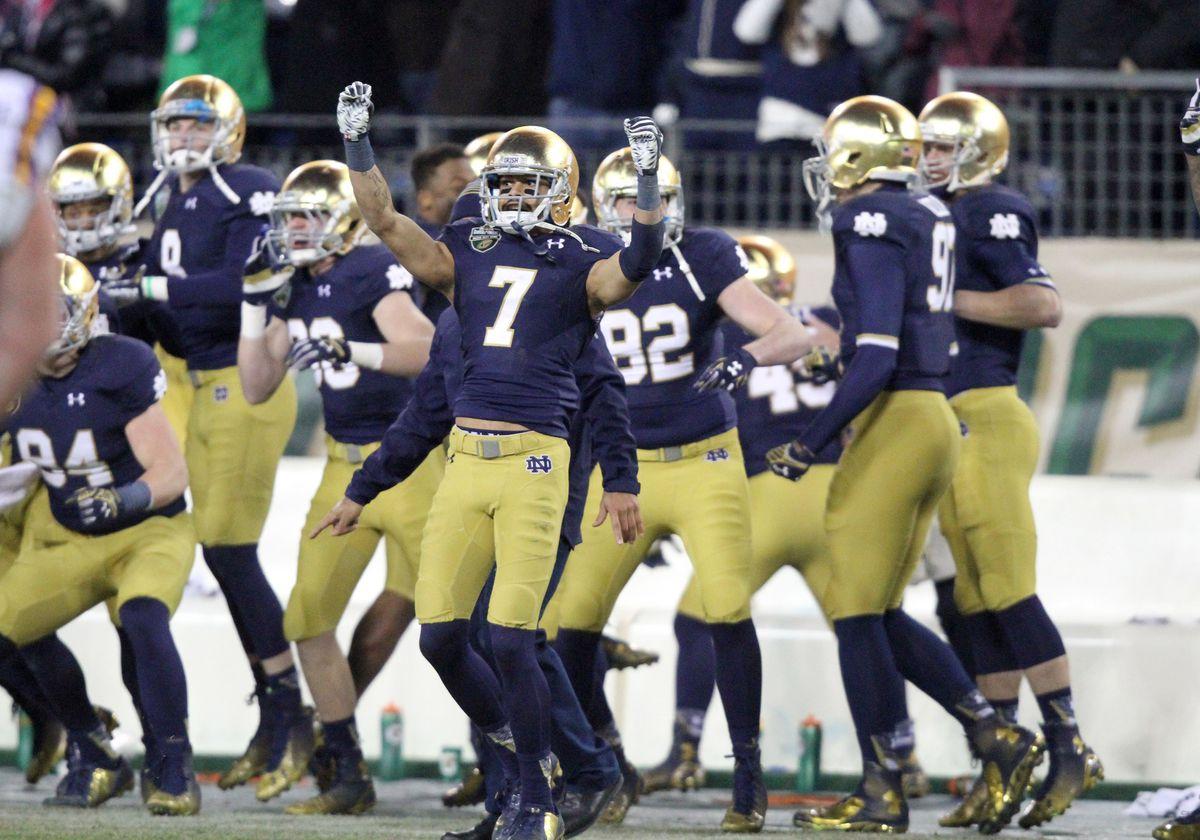 NCAA FOOTBALL: DEC 30 Music City Bowl - Notre Dame v LSU
