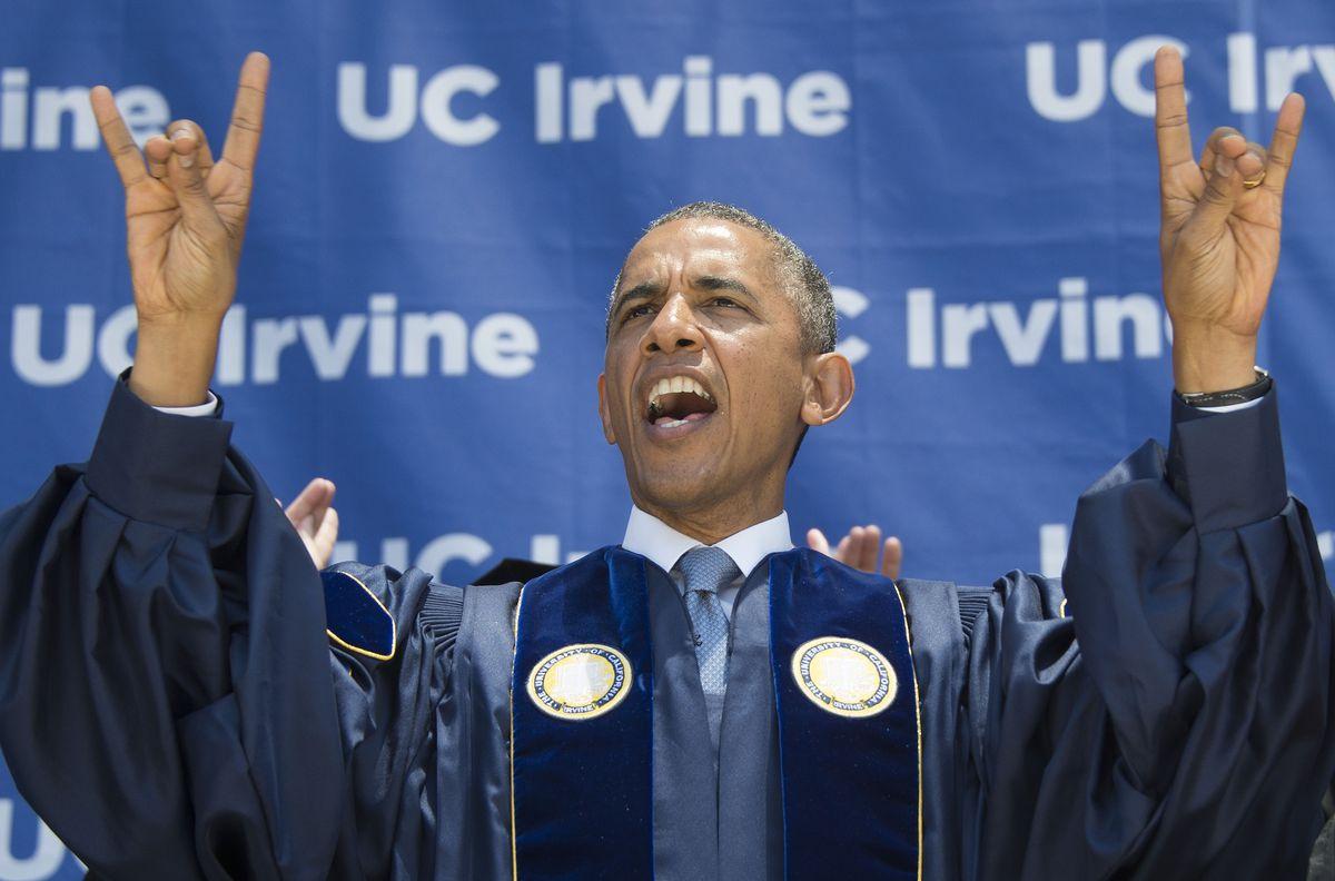 Obama at UC-Irvine