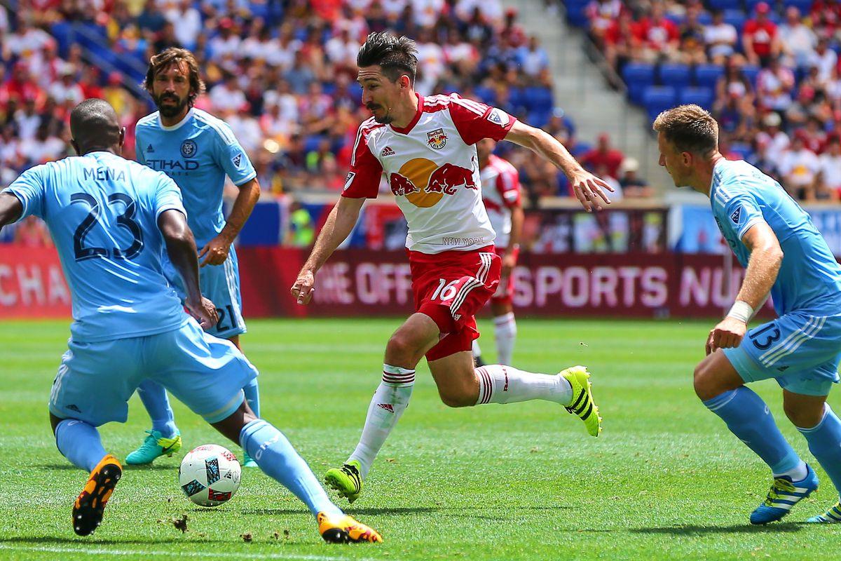 SOCCER: JUL 24 MLS - New York City FC at Red Bulls