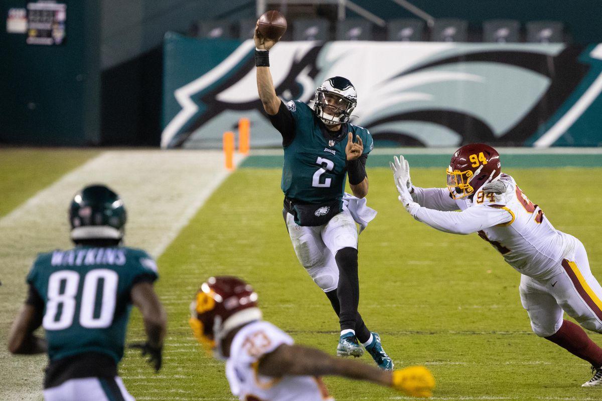 NFL: Washington Football Team at Philadelphia Eagles