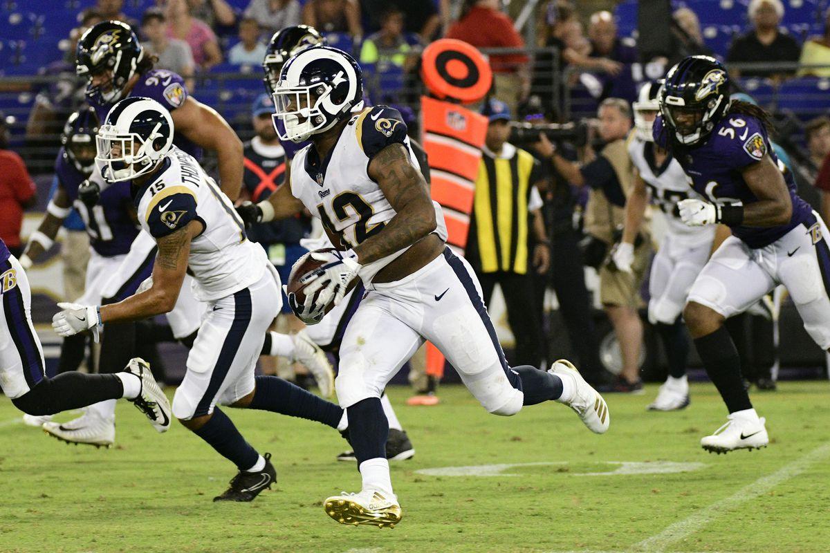 NFL: Los Angeles Rams at Baltimore Ravens