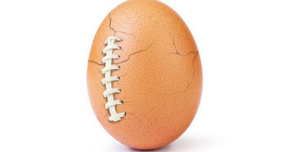 Hulu and Instagram's Absurd, Record-breaking Egg Account are Teasing a Super Bowl Reveal