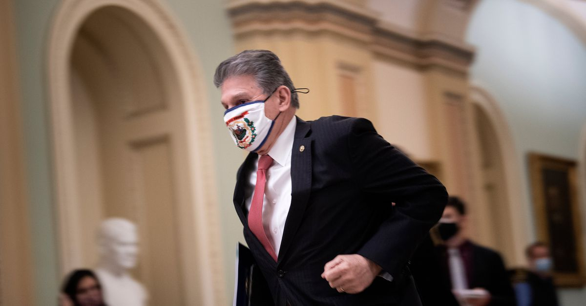 www.vox.com: Joe Manchin voted for controversial Trump nominees but is undecided on Biden's