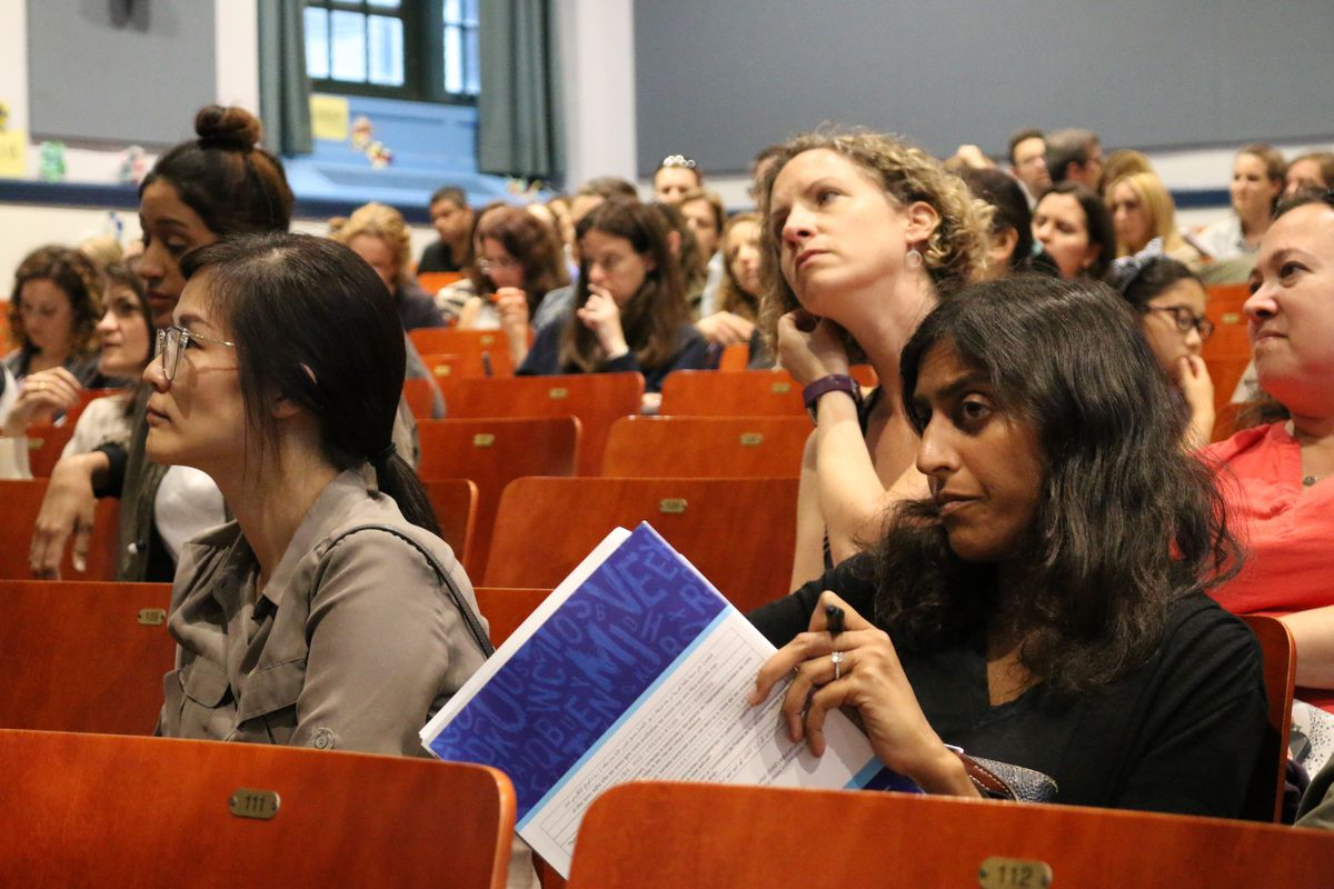 District 3 parents gathered at P.S. 75 to learn about the middle school admissions process. The district has a choice process and is implementing an integration plan to spur more academic diversity within middle schools. The district includes the Upper West Side and Harlem.
