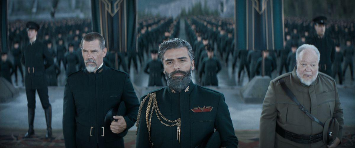 Oscar Isaac in 2021's Dune