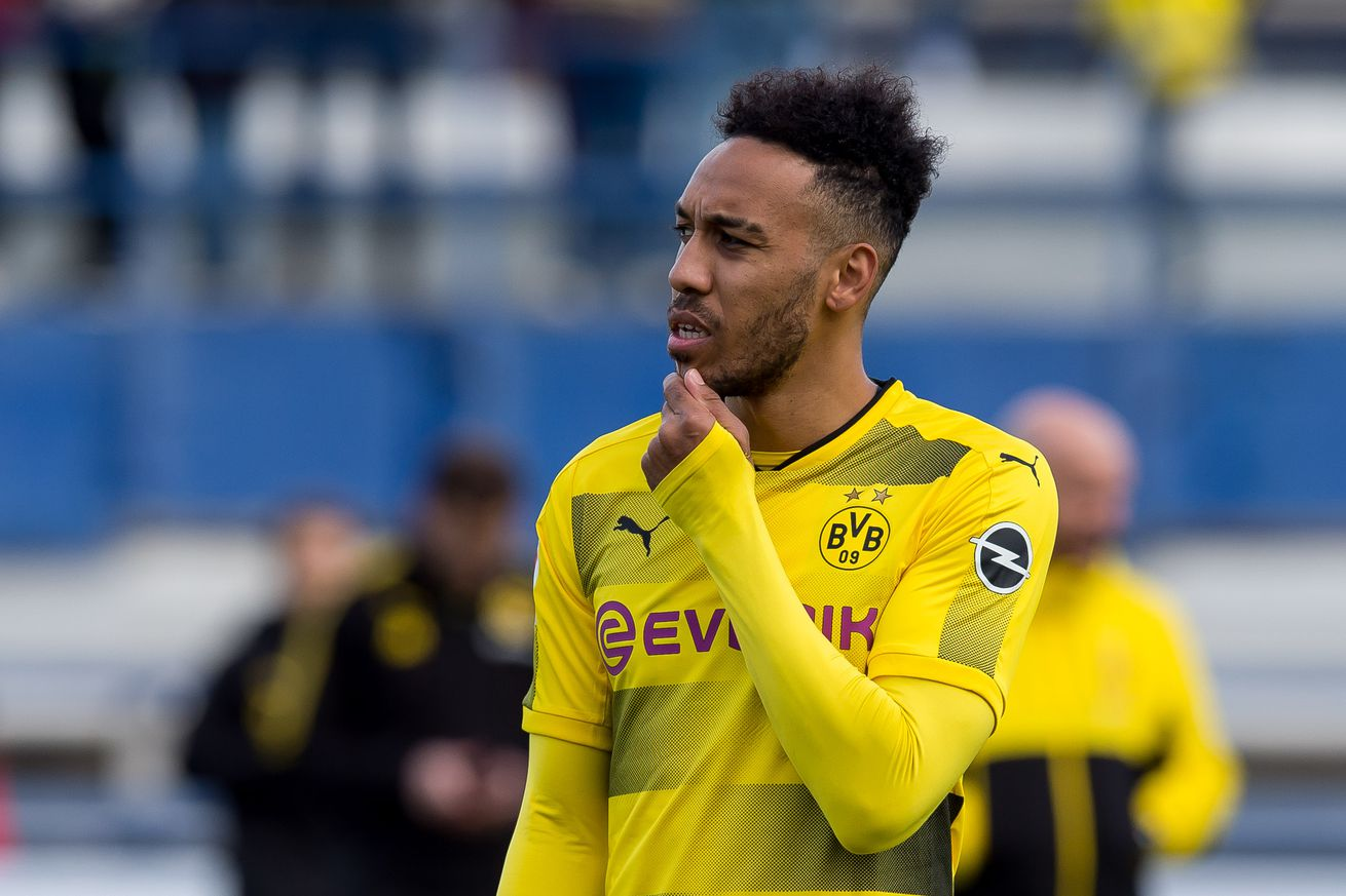 Aubameyang suspended for Wolfsburg game