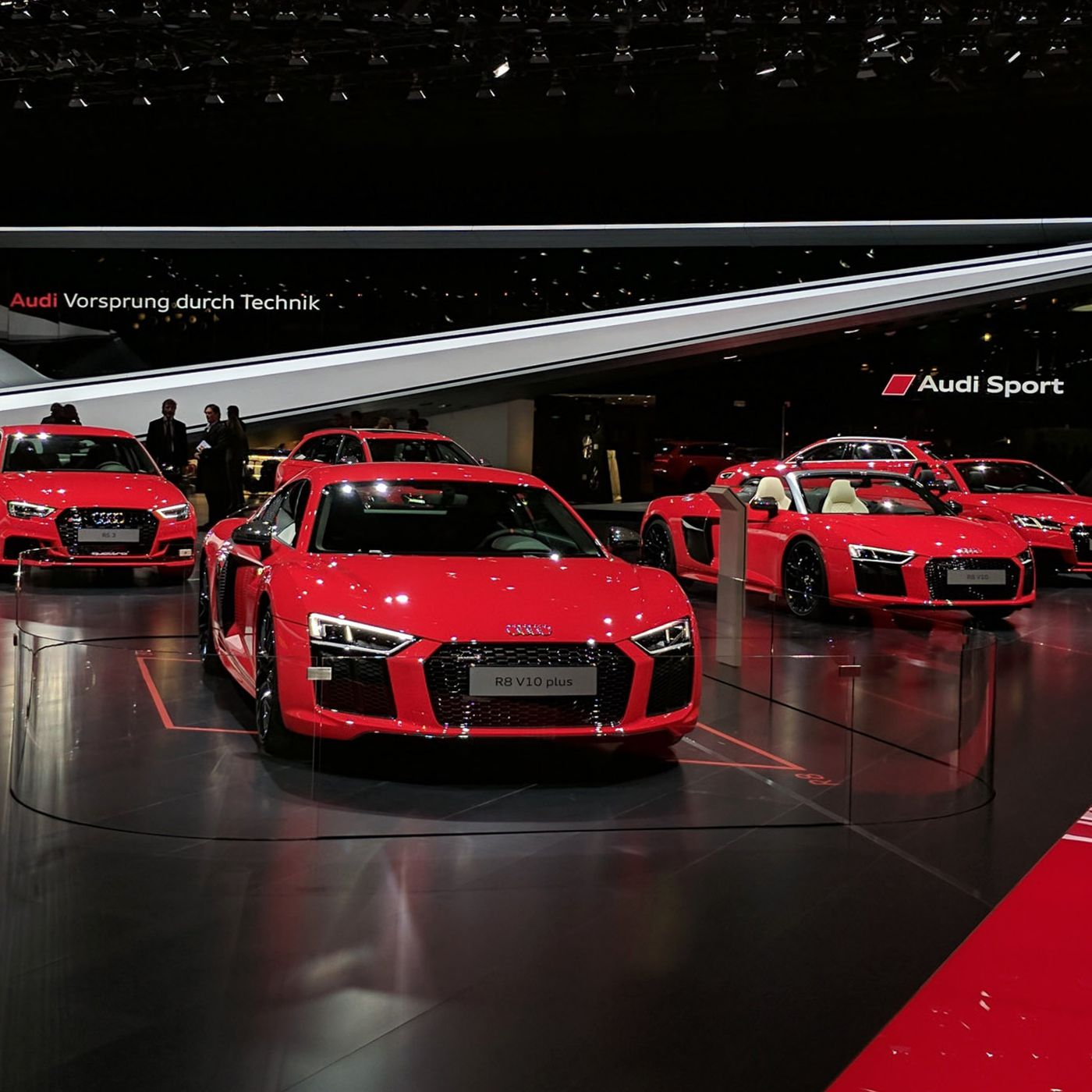 The Geneva Motor Show Has Been Overrun By Red Cars The Verge - Fun car show ideas