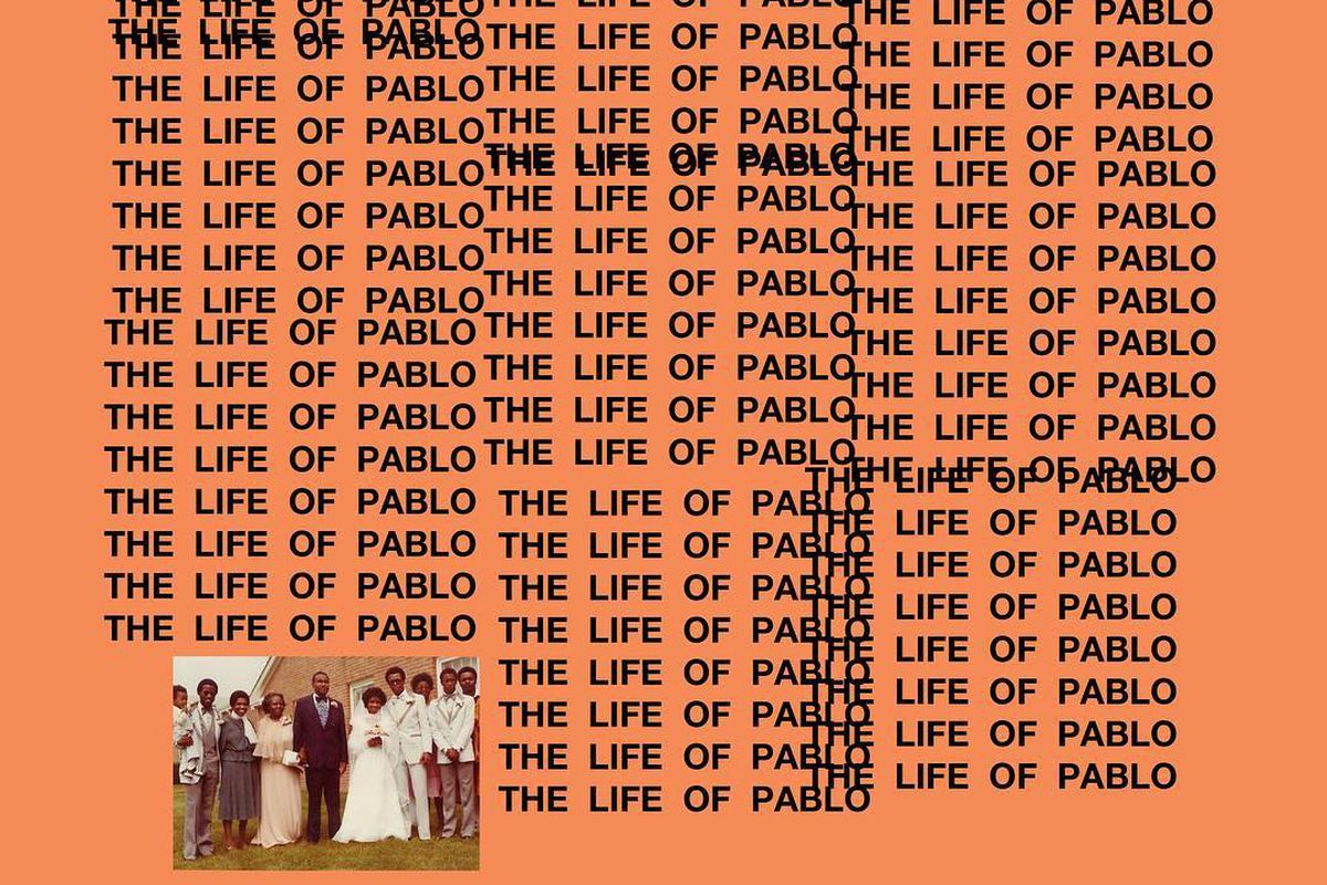 Well-liked Here is the cover art for Kanye West's new album, The Life of  PQ29